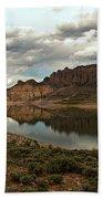 Blue Mesa Reservoir Beach Towel