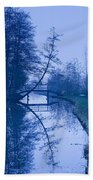 Blue Monday Beach Towel
