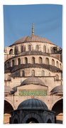 Blue Mosque Domes 01 Beach Towel