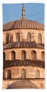 Blue Mosque Domes 03 Beach Towel