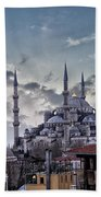 Blue Mosque In Istanbul Beach Towel
