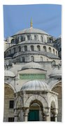 Blue Mosque In Istanbul Turkey Beach Towel