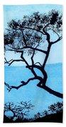 Blue Mountain Beach Towel
