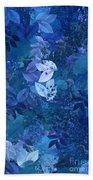 Blue - Natural Abstract Series Beach Towel