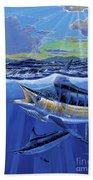 Blue Pitcher Off00115 Beach Towel by Carey Chen