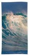 Blue Power. Indian Ocean Beach Towel
