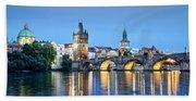 Blue Prague Beach Sheet