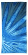 Blue Rays Beach Towel