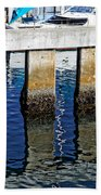 Blue Reflections Beach Towel
