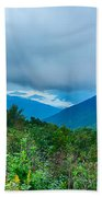 Blue Ridge Parkway National Park Sunrise Scenic Mountains Summer Beach Towel