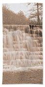 Blue Ridge Parkway Rainy Day Beach Towel