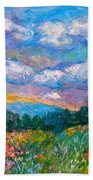 Blue Ridge Wildflowers Beach Towel