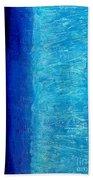 Blue Serenity Beach Towel
