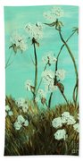 Blue Skies Over Cotton Beach Towel
