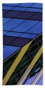Blue Sky Horizontal  Beach Towel
