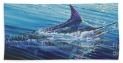 Blue Tranquility Off0051 Beach Towel