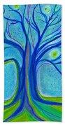 Blue Tree Sky By Jrr Beach Towel