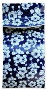 Blue Vase Beach Towel