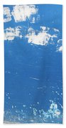 Blue Wall Beach Towel