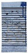 Blue Wall Beach Sheet