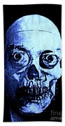 Blue Zombie Beach Towel