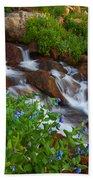 Bluebell Creek Beach Towel