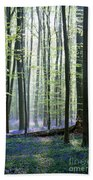 Bluebell Forrest 1 Beach Towel