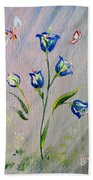 Bluebells Beach Towel