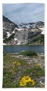 Bluebird Lake - Colorado Beach Towel