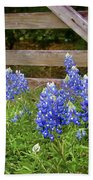 Bluebonnet Gate Beach Towel