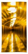 Blur Tunnel Beach Towel