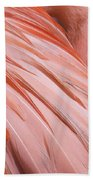 Blushing Flamingo Beach Towel