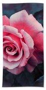 Blushing Rose Beach Towel