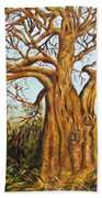 Baobab Tree Beach Towel