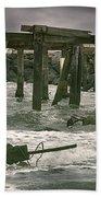 Boardwalk Remnants Beach Towel