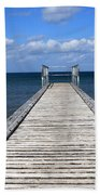 Boardwalk To The Ocean Beach Towel