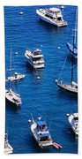 Boat Parking Beach Towel