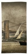 Boat - Sailing - Govenors Island Ny - Clipper City Beach Towel