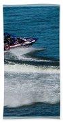 Boatnik Races 1 Beach Towel