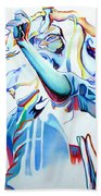 Bob Marley Colorful Beach Towel