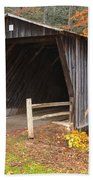 Bob White Covered Bridge Beach Towel