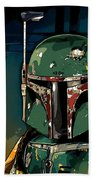 Boba Fett 2 Beach Towel