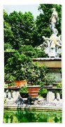 Boboli Gardens Fountain Florence Italy Beach Towel