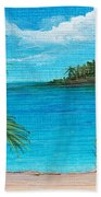 Boca Chica Beach Beach Towel
