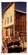 Bodie Ghost Town Wagon Beach Towel