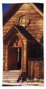 Bodie Methodist Church Beach Towel