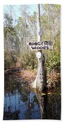 Bogger Woods Beach Towel