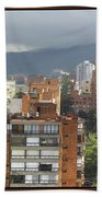 Bogota City View Beach Towel