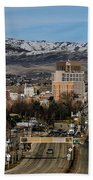 Boise Idaho Beach Towel by Robert Bales