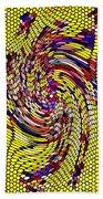Bold And Colorful Phone Case Artwork Designs By Carole Spandau Cbs Art The Golden Dragon 114  Beach Towel